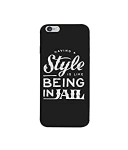 Kaira High Quality Printed Designer Soft Silicon Back Case Cover For Apple iPhone 6 Plus/Apple iPhone 6s Plus(75)