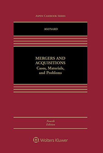 Mergers and Acquisitions: Cases, Materials, and Problems (Aspen Coursebook Series) (English Edition)