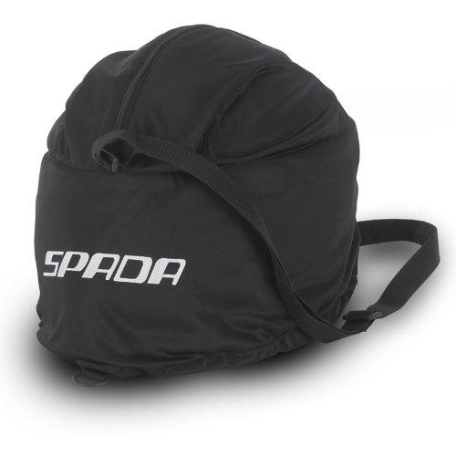 Spada Helmbeutel mit Visiertasche Einheitsgröße schwarz