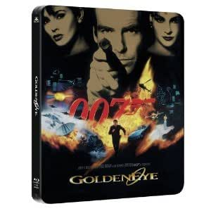 Steelbook Blu ray Goldeneye James Bond 007 avec piste audio VF
