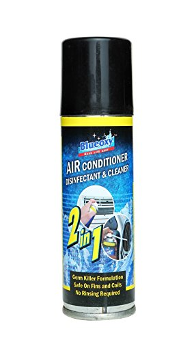 BlueOxy Air Conditioner Disinfectant Cleaner Spray Can: Pack of 1  available at amazon for Rs.280