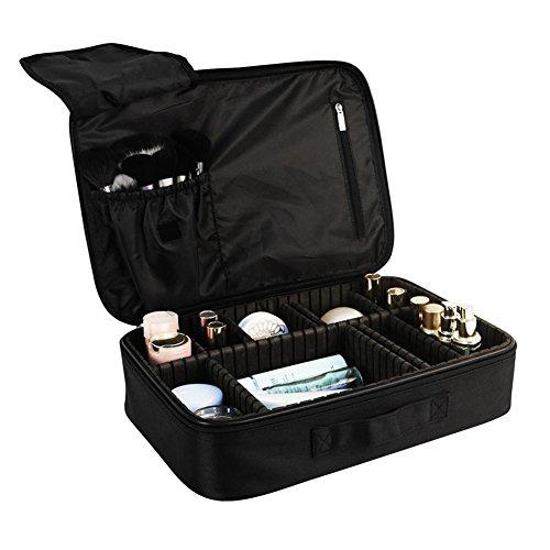 Cosbeauty-Maletn-Maquillaje-Profesional-Grande-Bolso-Organizador-de-Maquillaje-Cosmeticos-Joyera-Joyas-Joyero-Cepillos-Perfume-Espejo-Lpiz-Labial-Caja-Funda-para-Viaje-Make-Up-40028090mm