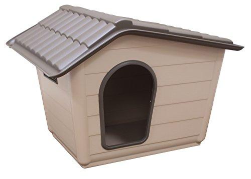 Croci c2065678 canile villa per cani, beige/marrone