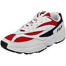 Fila Vintage Hombre Zapatillas de Deporte Bajas V94M, Blanco