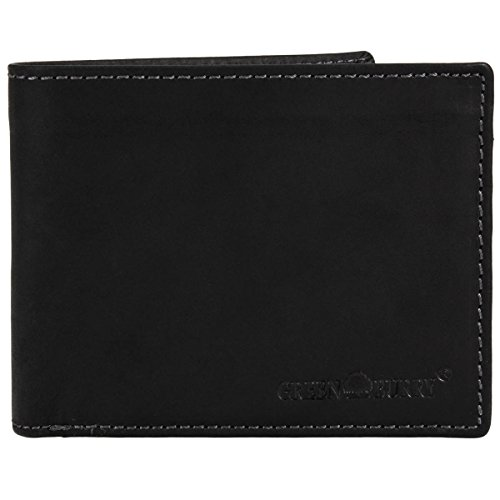 Greenburry Vintage Black Porte-monnaie cuir 12,5 cm Black
