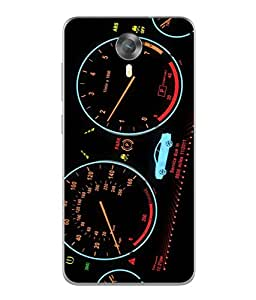PrintVisa Designer Back Case Cover for Micromax Canvas Xpress 2 E313 (Race cars fancy winner competition)
