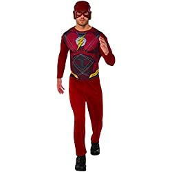 Marvel - Disfraz de Flash para hombre, Talla XL adulto (Rubie's 820961-XL)