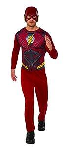 Marvel - Disfraz de Flash para hombre, Talla M adulto (Rubie