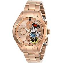 Invicta 27403 Disney Limited Edition Minnie Mouse Reloj para Mujer acero  inoxidable Cuarzo Esfera oro rossa b141b7cb8364