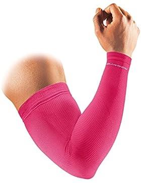 McDavid - Calentador deportivo de brazos (tamaño pequeño), color rosa