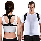 UBRU Haltungskorrektur, Haltungstrainer für Regulierung des Buckel, Rückenstütze mit verstellbare Gürtel wirksam bei der Linderung von Nacken- Schulter- &...