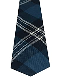 100% Reiver Earl of St. Andrews Tartan Tie & Gift Wrap - Made in Scotland by Lochcarron