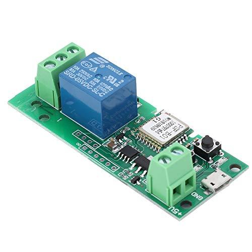 WiFi Smart Switch Tipping Selbstsichernde Relaismodul auf Zugangskontrolle, DIY WiFi Garagentoröffner DC 5V 433 Mhz angewendet werden -