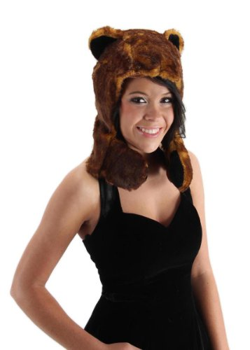 Bear Hug Costume Plush Hat Adult One (Hat Bear Hug)