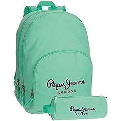 Pepe Jeans 6682458 Harlow Mochila Escolar, 42 cm, 19.44 Litros
