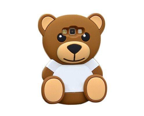 coverstop® COVER ORSACCHIOTTO 3D TED TEDDY BEAR ORSO PELUCHE CUSTODIA PER SAMSUNG GALAXY J5 J500 GOMMA SILICONE