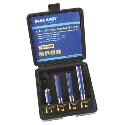 Blue Spot 22850 Kitchen Routers (4 Pieces)