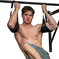 LEBBOULDER Padded Abdominal Hanging Exercise Straps For Home And Gym For Men and Women