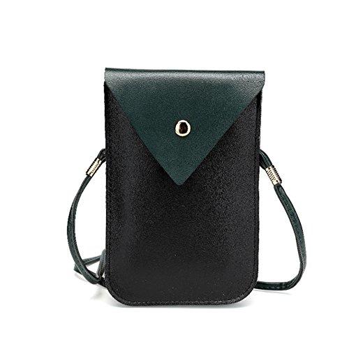Sac De Téléphone Portable/Messenger Bag/ Mini Sac à Main/Porte-monnaie Multifonctions-E A