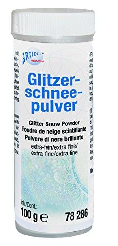 CREARTEC Giltzerschnee - Pulver - herrliche Winterlandschaft - 100g - Made in Germany