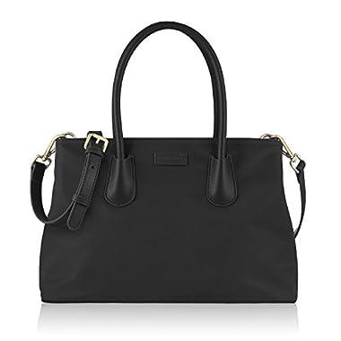Chiceco women's classic small nylon tote handbag 32 x 22 x 16.4 cm