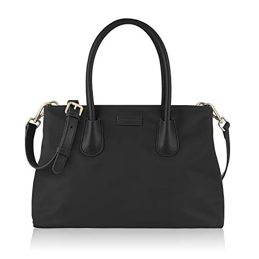 CHICECO Classic Women's Tote Handbag Designer Shoulder Bag – Oxford Nylon