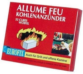 Brunner Campingartikel Grill und Kaminanzünder 32 Würfel, 350/121