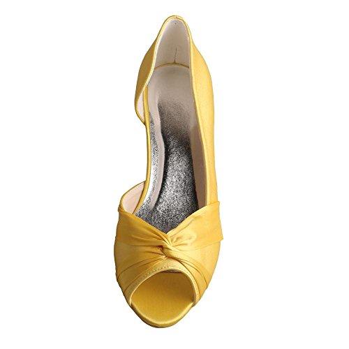 Wedopus Peep-Toe Donna Yellow