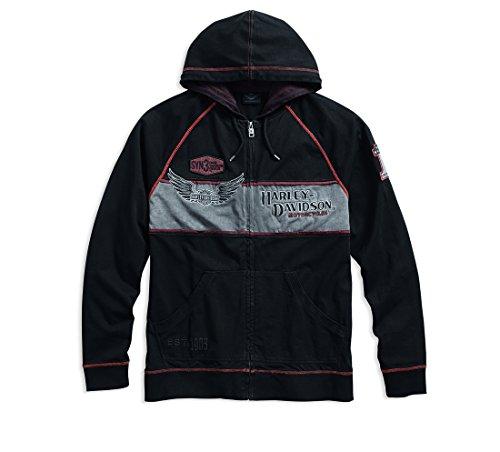 Harley-Davidson® Iron Block Hoodie (L) - Blöcke Hoodie