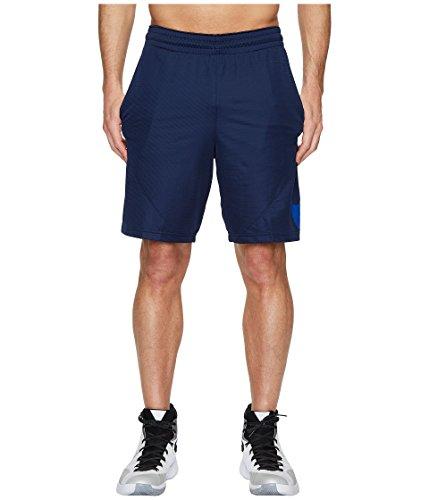 Nike m nk short hbr, pantaloncini sportivi uomo, blu midnight navy/hyper cobalt 410, 52 (taglia produttore:l)
