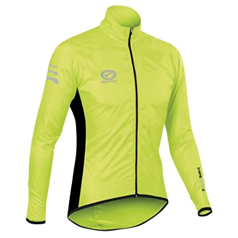 Optimum Men's Nitebrite Rain Jacket - Green, Small