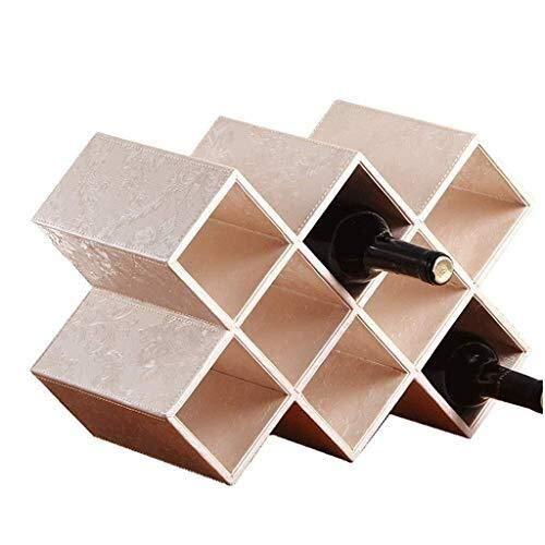 Portabottiglie wine rack ad alta densità materiale libero prodotto board neat j mano squisita desktop pulire via artistico zona controllata statua ( color : a8 )