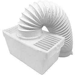 Find A Spare Kit de Tuyau d'aération Universel pour sèche-Linge à condensateur intérieur 10,2 cm 1,20 m