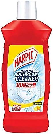 Harpic Disinfectant Bathroom Cleaner - Lemon, 1 L