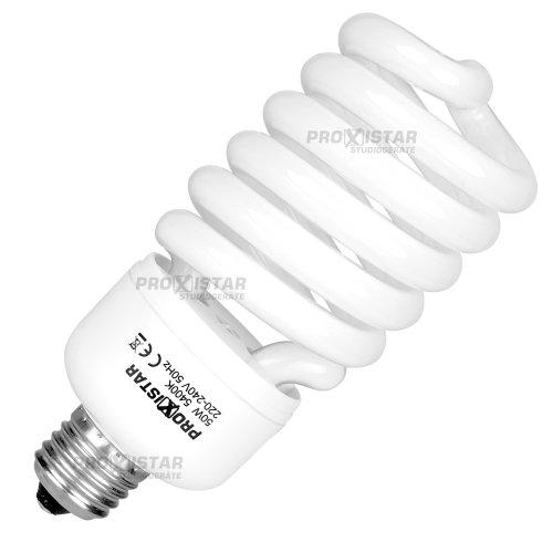 proxistar Spiral Tageslichtlampe 50W, 5400K, E27 - 50w Spiral