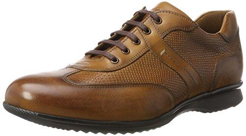 LLOYD Herren Bernard Sneaker, Braun (Cognac), 46.5 (Schuhe Bernard Herren)