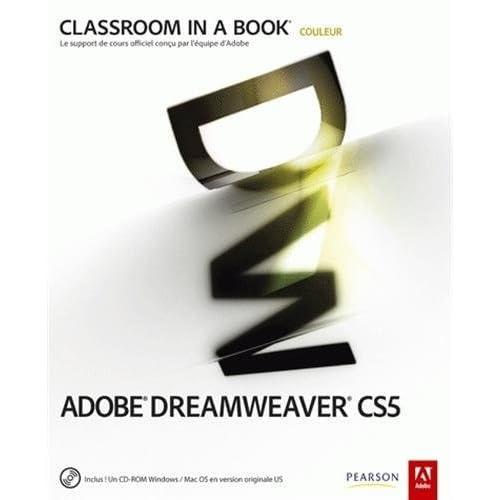 Adobe Dreamweaver CS5 (1Cédérom)