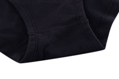 Damen Maternity Unterwäsche, ZUMIY® Cotton Knickers Schwangere Panties/ Schwangerschafts-Unterwäsche Pack Black+Black+Nude/3-pk