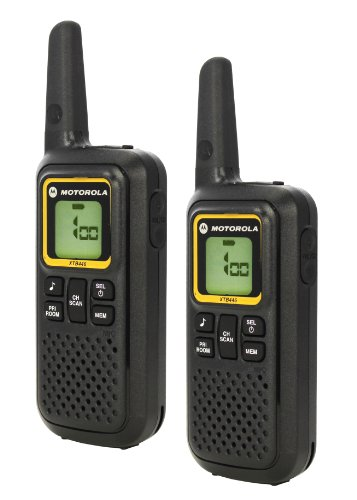 Motorola-XTB446-2-Way-PMR446-Walkie-Talkie-Radio-Black-Pack-of-2
