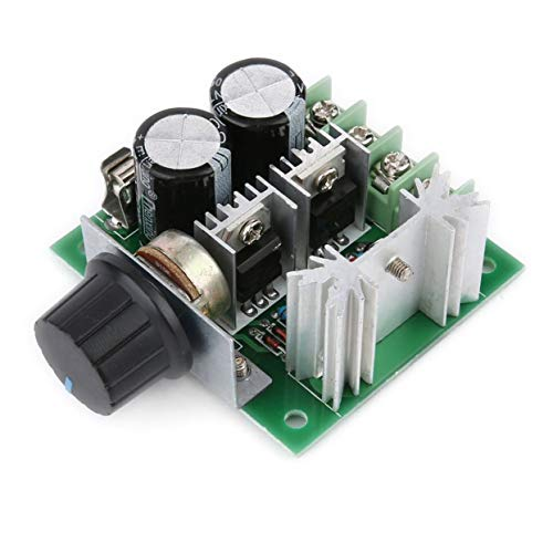 Tree-on-Life Universal 12 V-40 V 10 A 13 kHz Pulsweitenmodulation PWM DC Motor Drehzahlregler Controller Schalter Schwarz - Drehmoment-controller