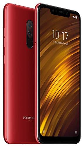 """Xiaomi Pocophone F1 15,7 cm (6.18 """") 6 GB 64 GB híbrido Dual SIM 4G Vermelho 4000 mAh"""