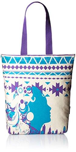 Kanvas Katha Women's Zipped Fashion Canvas Tote (Ecru)  (KKCAMZ012)