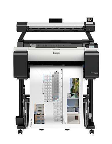 Canon imagePROGRAF TM-200 L24ei Großformatdrucker mit Scanner und inklusive Stand (A1, 60,96 cm, 2.400 x 1.200 DPI, USB, LAN, WLAN)