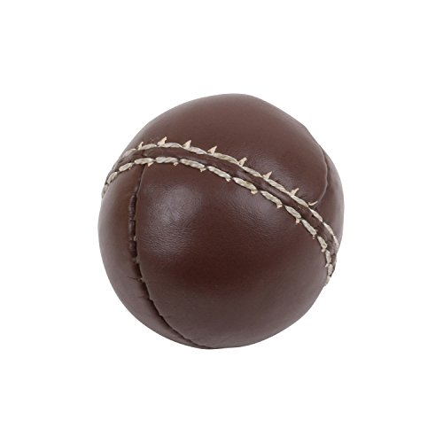 TRENAS Throwing ball - made of leather - 80 g - brown - Single - 10 pcs - 25 pcs - for competition and training Test