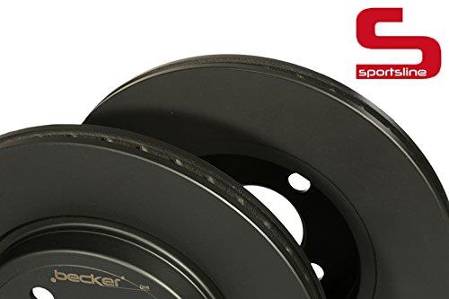 Bremsscheibe Sportsline (Vorderachse) u.a. für Mini | f.becker_line von kfzteile24 | Bremsscheibe, Bremsanlage