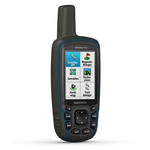 Garmin GPSMAP 64x - robustes, wasserdichtes GPS-Outdoor-Navi mit 2,6