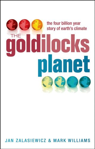 Book's Cover ofThe Goldilocks Planet: The 4 billion year story of Earth's climate