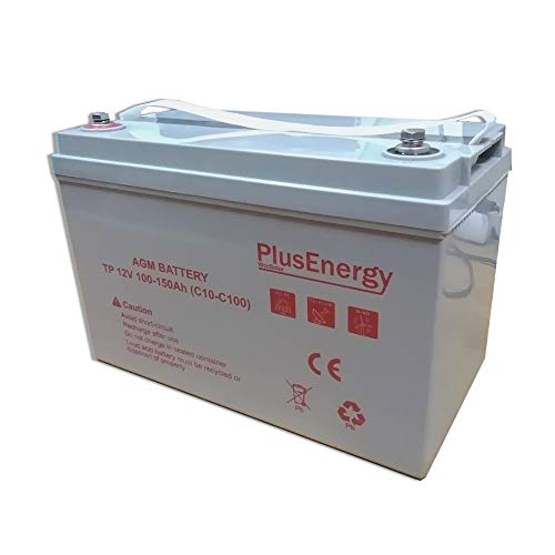 PlusEnergy Bateria AGM Gel 100-150AH C10 C100 12V