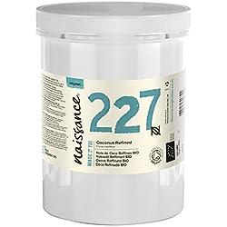 Naissance Huile de Coco Raffinée BIO (n° 227) - 1kg - 100% pure et naturelle