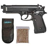 Pistola Perdigón Daisy 340. Calibre 4,5mm BBS. + Funda Portabalines + Balines. 23413/23054/38123